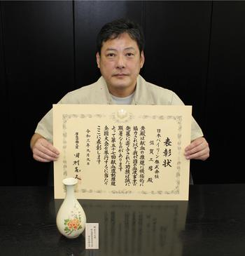 Mr. Masahiro Nakajima (pictured by Yoshiaki Nishida)2.JPG